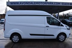 FORD TRANSIT CUSTOM 340  170 BHP TREND L2 H2 LWB HIGH ROOF AIR CON VAN EURO 6 - 2173 - 5