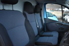 VAUXHALL VIVARO 2900 L2 H1 LWB BRITISH GASBLUE VAN TWIN SIDE DOORS SHELVING - 2764 - 9