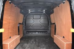 FORD TRANSIT CUSTOM 340 LIMITED 170 BHP BLACK LWB L2 TWIN SIDE DOORS NAV  ECOBLUE - 2879 - 12