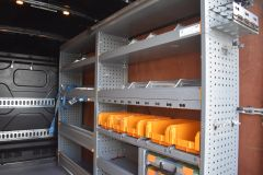 FORD TRANSIT 350 LEADER L2 H3 MWB HIGH ROOF GREY RARE VAN SHELVING LADDER RACK ECOBLUE EURO 6 - 2620 - 3