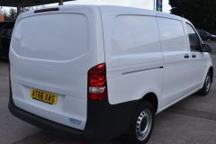 MERCEDES VITO 111 lONG PANEL VAN TWIN SIDE DOORS TAIL GATE  - 2231 - 6