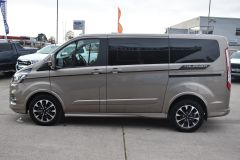 FORD TOURNEO CUSTOM 320 SPORT ECOBLUE DIFFUSED SILVER RARE NO VAT 8 SEATER AUTOMATIC 185 BHP  - 2843 - 3