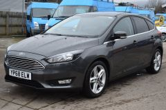 FORD FOCUS ZETEC EDITION GREY SAT NAV AIR CON FAMILY CAR LOW MILES TDCI - 2802 - 1