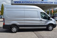 FORD TRANSIT 350 L3 H3 170 BHP LWB HIGH ROOF AIR CON REVERSE CAMERA EURO 6 SILVER VAN  - 2959 - 7