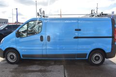 NISSAN PRIMASTAR DCI BRITISH GAS BLUE VAN SHELVING AIR CON L2 LWB - 2871 - 4