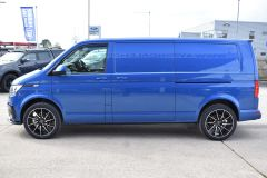 VOLKSWAGEN TRANSPORTER T30 T6.1 2021 LWB 150 BHP BLUE IDEAL CAMPER SPORTLINE STYLED HIGHLINE NOT T5 T6 - 2929 - 3