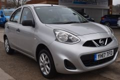 NISSAN MICRA VIBE 1.2 PETROL AIR CON BLUETOOTH SILVER CAR - 2800 - 7