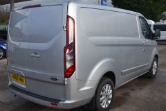 FORD TRANSIT CUSTOM 300 LIMITED  ECOBLUE EURO 6 SILVER VAN  - 2830 - 6