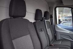 FORD TRANSIT 350 L3 H2 LUNAR SKY GREY LWB EURO 6 SIDE WINDOW VAN IDEAL CAMPER CONVERSION - 2157 - 9