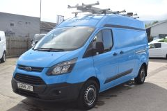 FORD TRANSIT CUSTOM 330 L2 H2 LWB GAS VAN TWIN SIDE DOORS - 2509 - 1