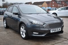 FORD FOCUS ZETEC EDITION GREY SAT NAV AIR CON FAMILY CAR LOW MILES TDCI - 2802 - 8