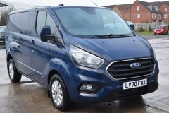 FORD TRANSIT CUSTOM 280 LIMITED AUTOMATIC ECOBLUE EURO 6 BLUE VAN  - 2831 - 7