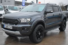 FORD RANGER WILDTRAK RAPTOR STYLED ECOBLUE 2.0 BI TURBO SEA GREY NO VAT AUTOMATIC 4X4 - 2628 - 1