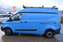FORD TRANSIT CUSTOM 330 LWB L2 H2 BRITISH GAS BLUE VAN  - 2590 - 4