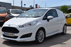 FORD FIESTA SPORT CAR DERIVED VAN WITH SAT NAV CRUISE AND AIR CON - 2294 - 1