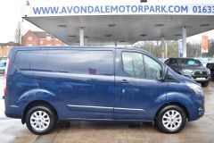 FORD TRANSIT CUSTOM 280 LIMITED AUTOMATIC ECOBLUE EURO 6 BLUE VAN  - 2831 - 6