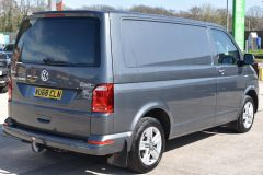 VOLKSWAGEN TRANSPORTER AUTOMATIC DSG T32 T6 204 BHP 4MOTION 4X4 HIGHLINE GREY VAN WITH DIFF LOCK SAT NAV HEATED SEATS - 2248 - 6