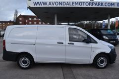 MERCEDES VITO 111 lONG PANEL VAN TWIN SIDE DOORS TAIL GATE  - 2231 - 7